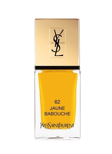 Yves Saint Laurent Yves Saint Laurent La Laque Couture 62 Renk Kadın Oje Sarı